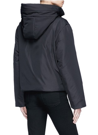 Back View - Click To Enlarge - Proenza Schouler - PSWL graphic drawstring puffer jacket