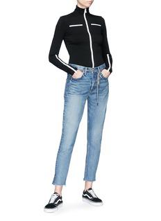 Proenza Schouler PSWL contrast zip leotard jacket