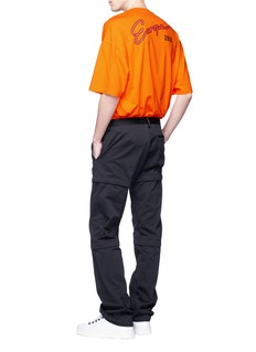 Balenciaga Detachable panel gabardine pants