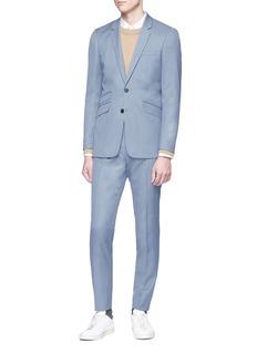 Topman Slim fit twill soft blazer