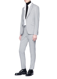 Topman Gingham check houndstooth pants