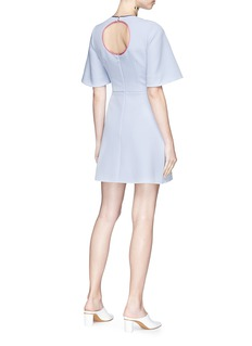 Roksanda 'Layken' cutout bonded crepe dress