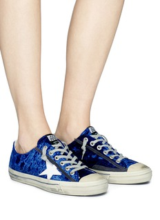 Golden Goose 'V-Star 2' velvet sneakers