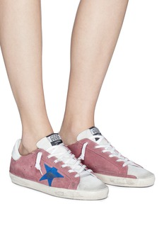 Golden Goose 'Superstar' brushed suede sneakers