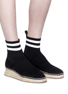 Alexander Wang  'Dylan' knit sock espadrille sneakers