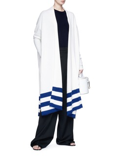 Rosetta Getty Oversized cashmere open cardigan