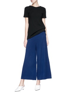 Rosetta Getty Cashmere knit culottes