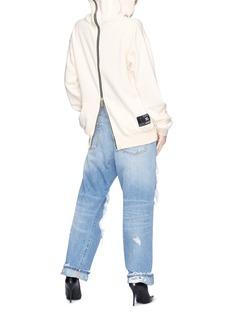 Ben Taverniti Unravel Project  Zip back hoodie