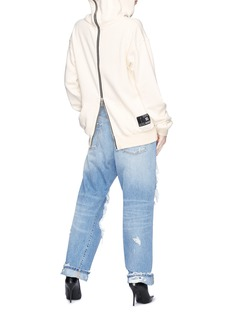 Ben Taverniti Unravel Project  Destroyed wide leg boyfriend jeans