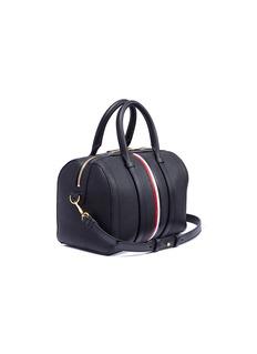 Thom Browne Vertical stripe leather bag