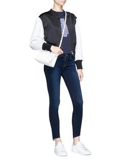 Frame Denim 'Le Skinny de Jeanne' scoop cuff jeans