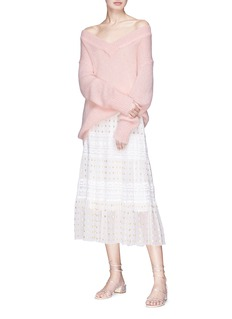 Temperley London 'Iron' V-neck sweater