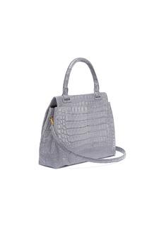 Nancy Gonzalez Crocodile leather flap tote bag
