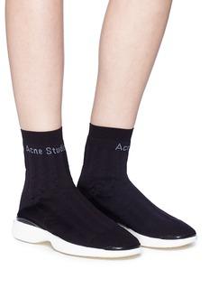 Acne Studios 'Batilda' sock knit sneakers