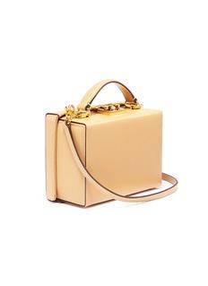 Mark Cross 'Grace Small Box' leather trunk