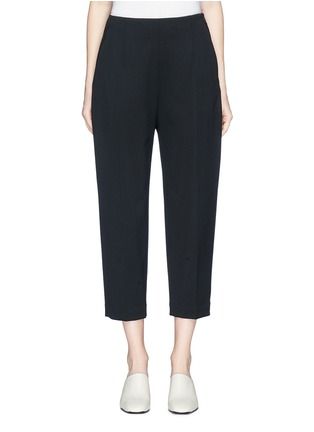 Main View - Click To Enlarge - KUHO - 'Lachaise' zip cuff cropped suiting pants