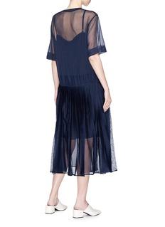 KUHO 'Mirror' pleated knit dress