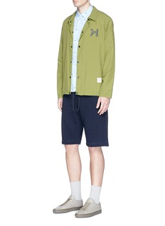 PS by Paul SmithDrawstring French terry shorts