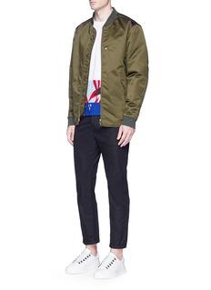 MarniCotton twill cropped pants