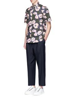 MarniFloral print shirt