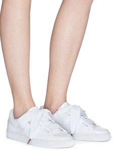 Puma 'Basket Heart' patent leather sneakers