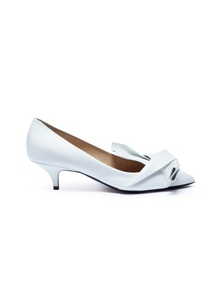 Main View - Click To Enlarge - NO.21 - Bow leather pumps