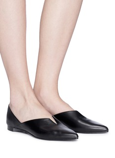 Pierre Hardy 'Secret Mule' leather skimmer flats