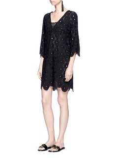 ViX Cutwork lace cotton dress