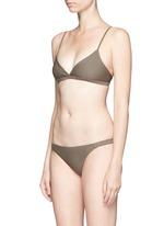 'The Tri Crop' bikini top