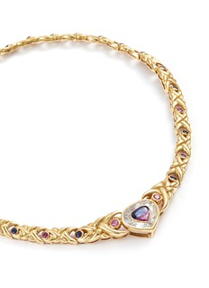 Mellerio Sapphire 18k yellow gold necklace