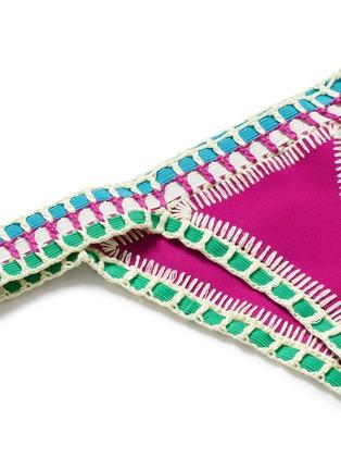 Detail View - Click To Enlarge - Kiini - 'Coco' crochet trim bikini bottoms