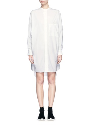 Main View - Click To Enlarge - Acne Studios - 'Siva' pleat cuff cotton poplin shirt dress