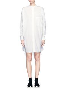 Acne Studios'Siva' pleat cuff cotton poplin shirt dress
