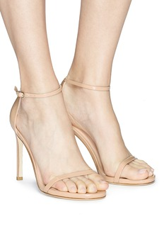 Stuart Weitzman 'Nudist Song' patent leather sandals