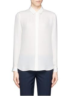 THEORYAquilina B' sheer silk shirt
