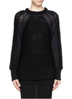 HELMUT LANGPompom knit pullover