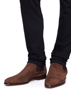 Magnanni Suede Chelsea boots