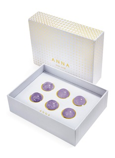 ANNA BY RABLABS Vida wine gem set – Flourite