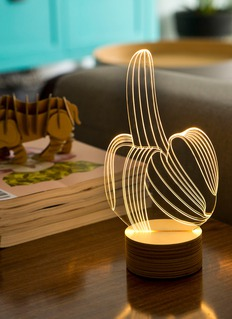 BULBING Banana table lamp