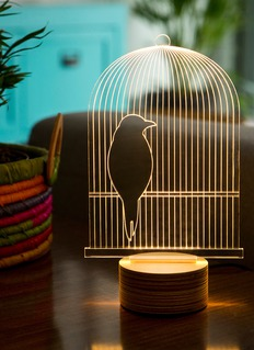 BULBING Bird Cage table lamp