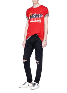Amiri 'Army' graphic print T-shirt