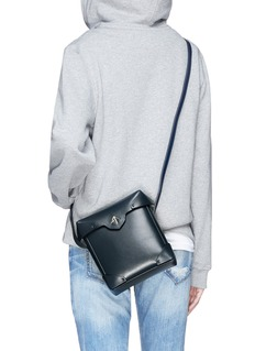 MANU Atelier 'Pristine' mini leather crossbody bag