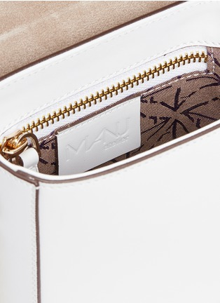 Detail View - Click To Enlarge - MANU Atelier - 'Pristine' micro leather crossbody bag