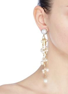 Erickson Beamon 'Pretty Woman' faux pearl drop earrings