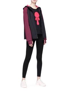 Fendi Sport 'Karlito' print hooded zip jacket