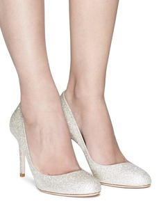 Jimmy Choo 'Bridget 85' glitter pumps