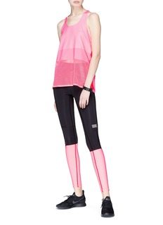 Monreal London 'Sprinter' colourblock performance leggings