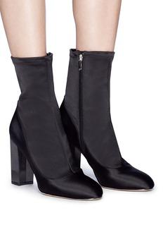 Sam Edelman 'Calexa' stretch satin sock boots