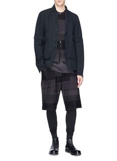 The Viridi-anne Detachable sleeve soft blazer