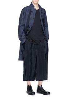THE VIRIDI-ANNE 双层下摆纯棉T恤